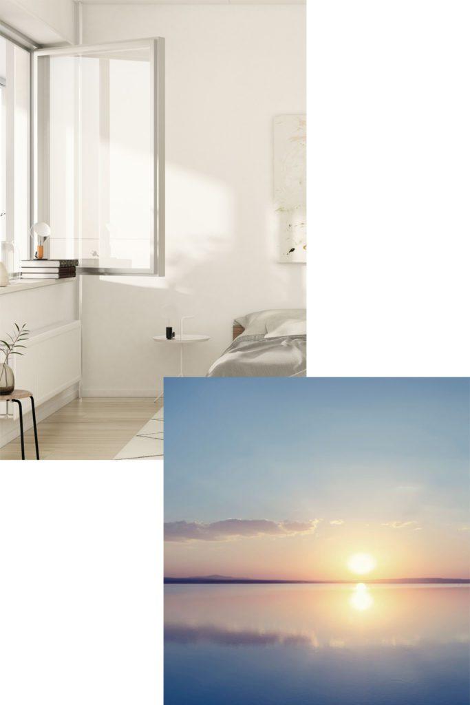 Solnedgång - Köp lägenhet på Solsidan i Huskvarna