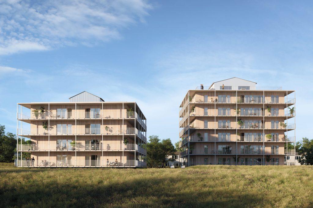 Hus B och C, Ängshusen en del av Strandängen Jönköping