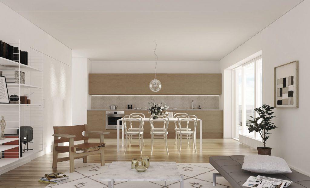 Kök, lägenheterna i Ängshusen Jönköping