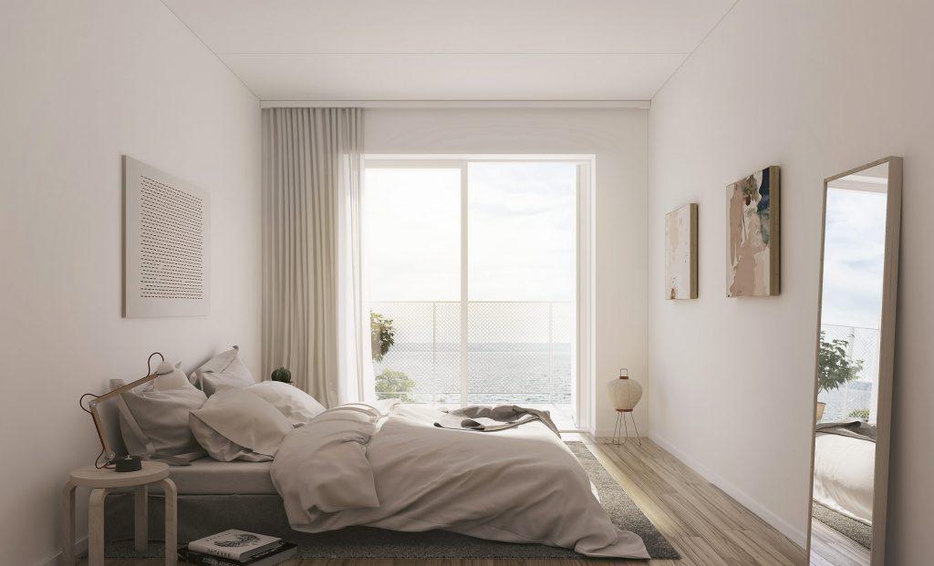 Sovrum, lägenheterna i Ängshusen Jönköping