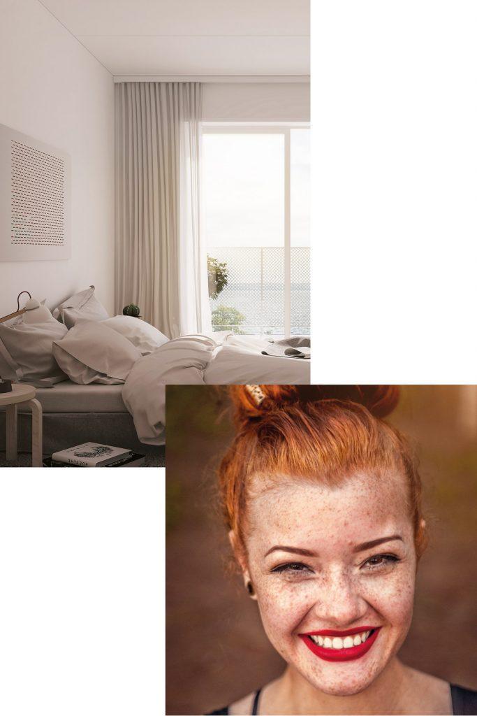 Sovrum - Köp lägenhet på Ängshusen, Strandängen i Jönköping