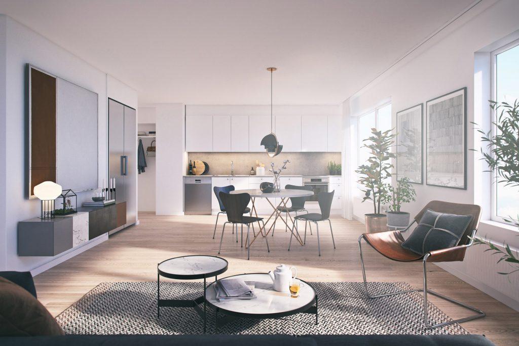 I din lägenhet från Tosito har du nära till Jönköping City