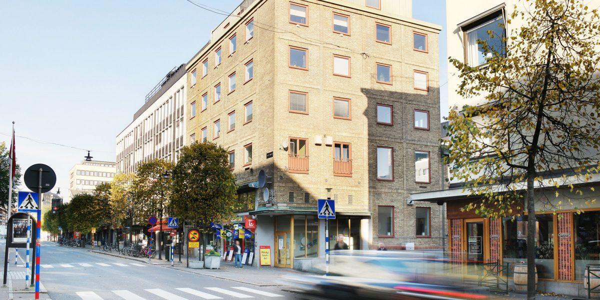 Fastighet i centrala Jönköping, Hackspetten 4 - Hyra lägenhet & kontor i Jönköping