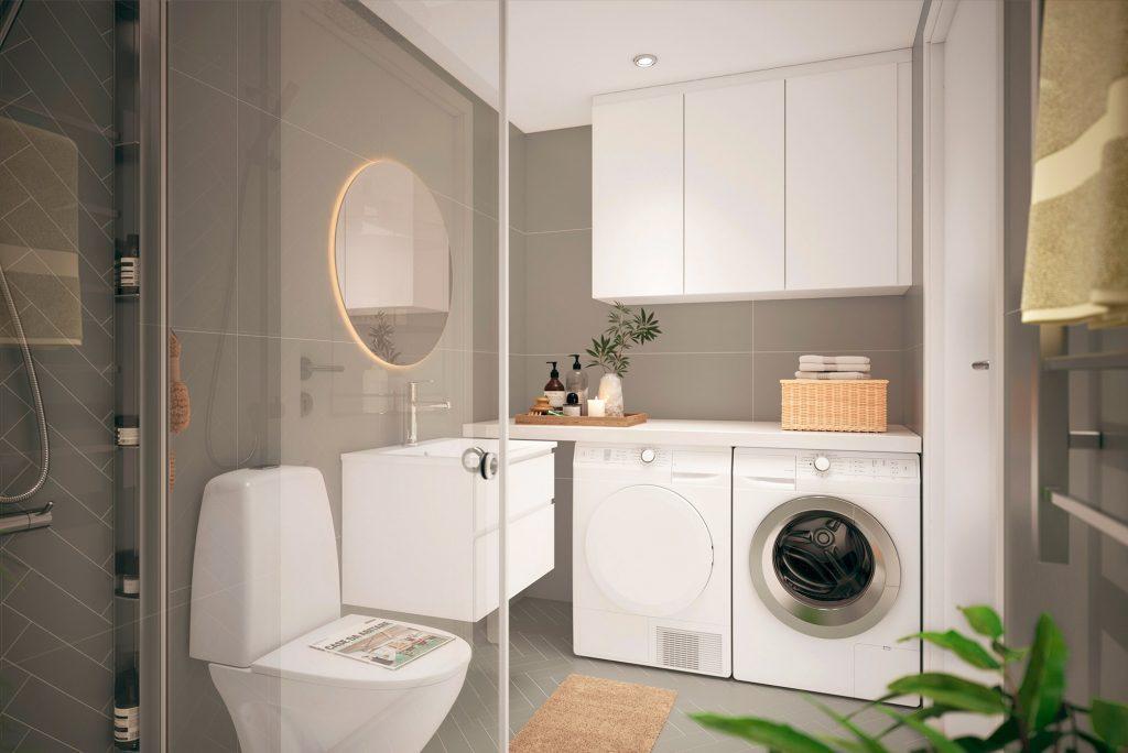 Möjlighet till tillval i badrum från Tosito