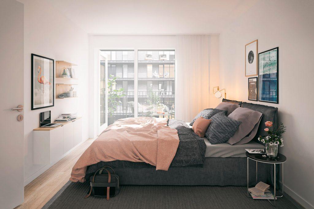 Fantastiskt sovrum - Köp lägenhet på East i Jönköping