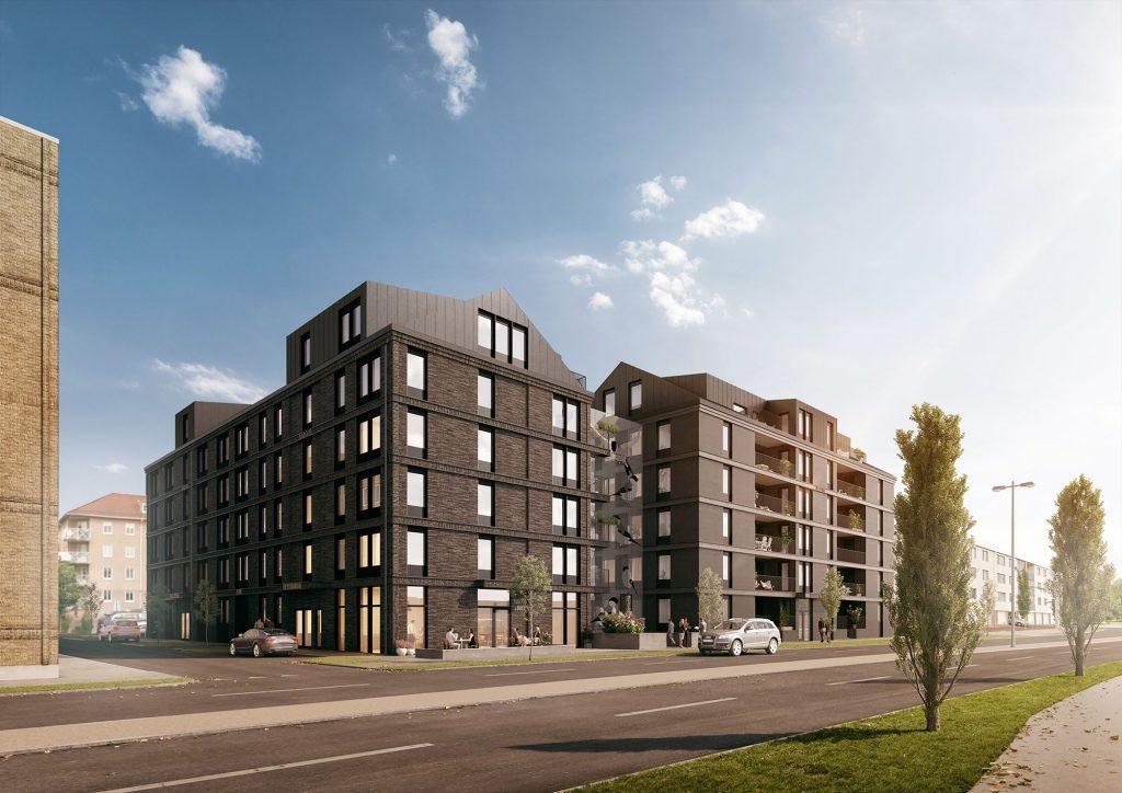 Vy från Odengatan, Jönköping - Köp lägenhet på East i Jönköping