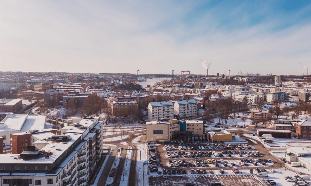 Nyproduktion av lägenhet i centrala Göteborg