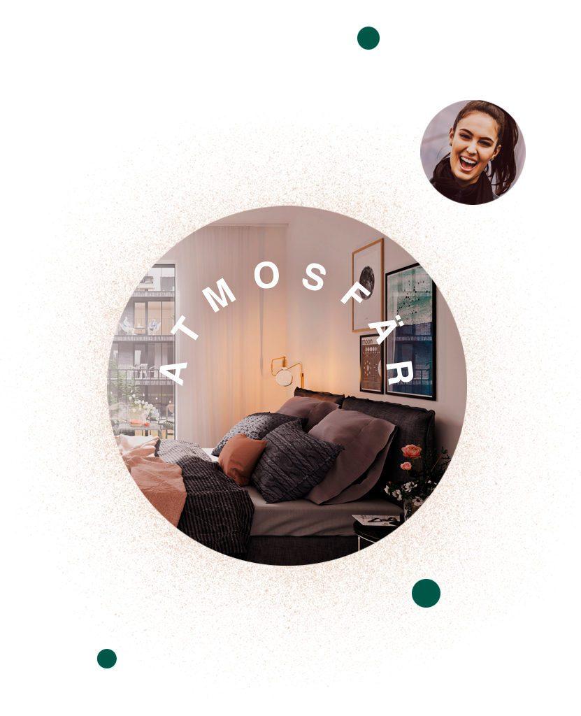 Atmosfär – Nyproduktion av lägenheter i Karlastaden