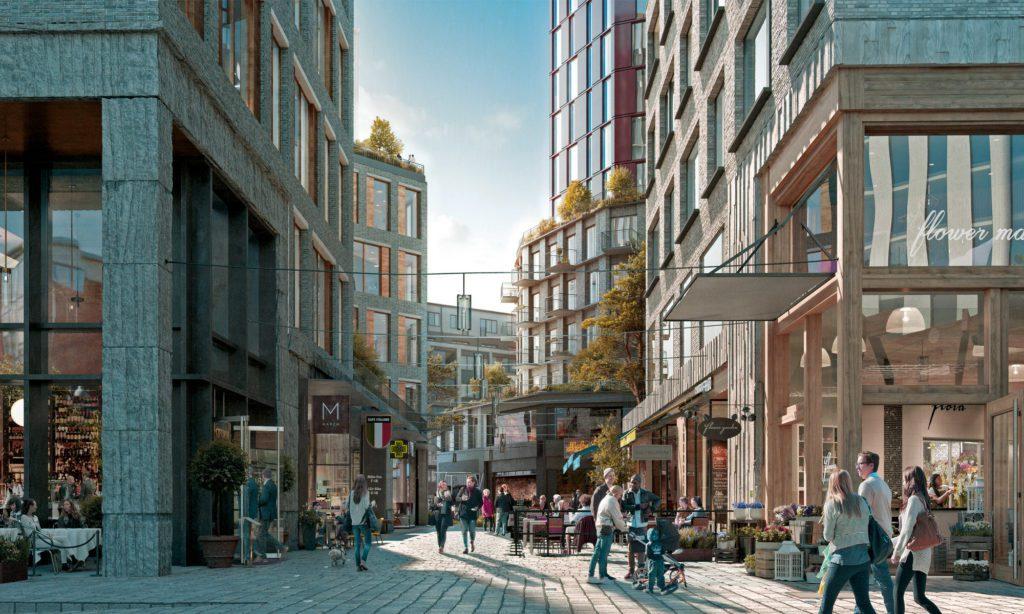 Nyproduktion lägenheter Göteborg, Karlastaden