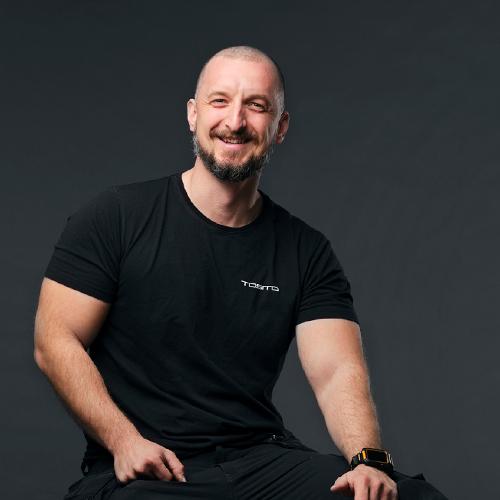 Portrait of Edis Muheljic
